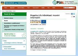 Progetto Life InBioWood: incontri informativi