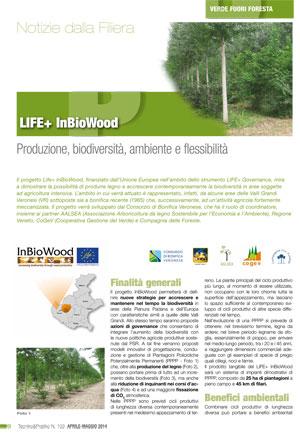 LIFE+ InBioWood - Produzione, biodiversità, ambiente e flessibilità