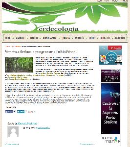 Veneto aderisce a programma InBioWood